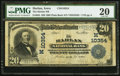 National Bank Notes:Iowa, Harlan, IA - $20 1902 Plain Back Fr. 655 The Harlan NB Ch. # (M)10354. ...