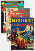 Golden Age (1938-1955):Miscellaneous, Miscellaneous Golden to Modern Age Comics Group of 24 (Various Publishers, 1940s-90s) Condition: Average GD/VG.... (Total: 24 Comic Books)