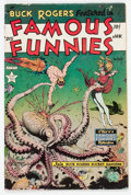 Golden Age (1938-1955):Science Fiction, Famous Funnies #215 (Eastern Color, 1955) Condition: VG+....