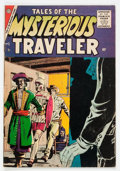 Silver Age (1956-1969):Mystery, Tales of the Mysterious Traveler #2 (Charlton, 1957) Condition:VG+....