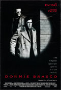 """Movie Posters:Crime, Donnie Brasco (Tri-Star, 1997). One Sheet (26.75"""" X 39.75"""") DS. Crime.. ..."""