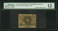 Fractional Currency:Second Issue, Fr. 1233 Milton 2R5.2e 5¢ Second Issue Entire Back Inverted PMG Fine 12.. ...