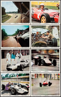 "Grand Prix (MGM, 1967). Color Photos (8) & Photos (9) (8"" X 10""). Sports. ... (Total: 17 Items)"