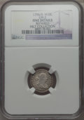 Early Half Dimes, 1796/5 H10C V-2, LM-2, R.6 -- Repaired -- NGC Details. Fine....