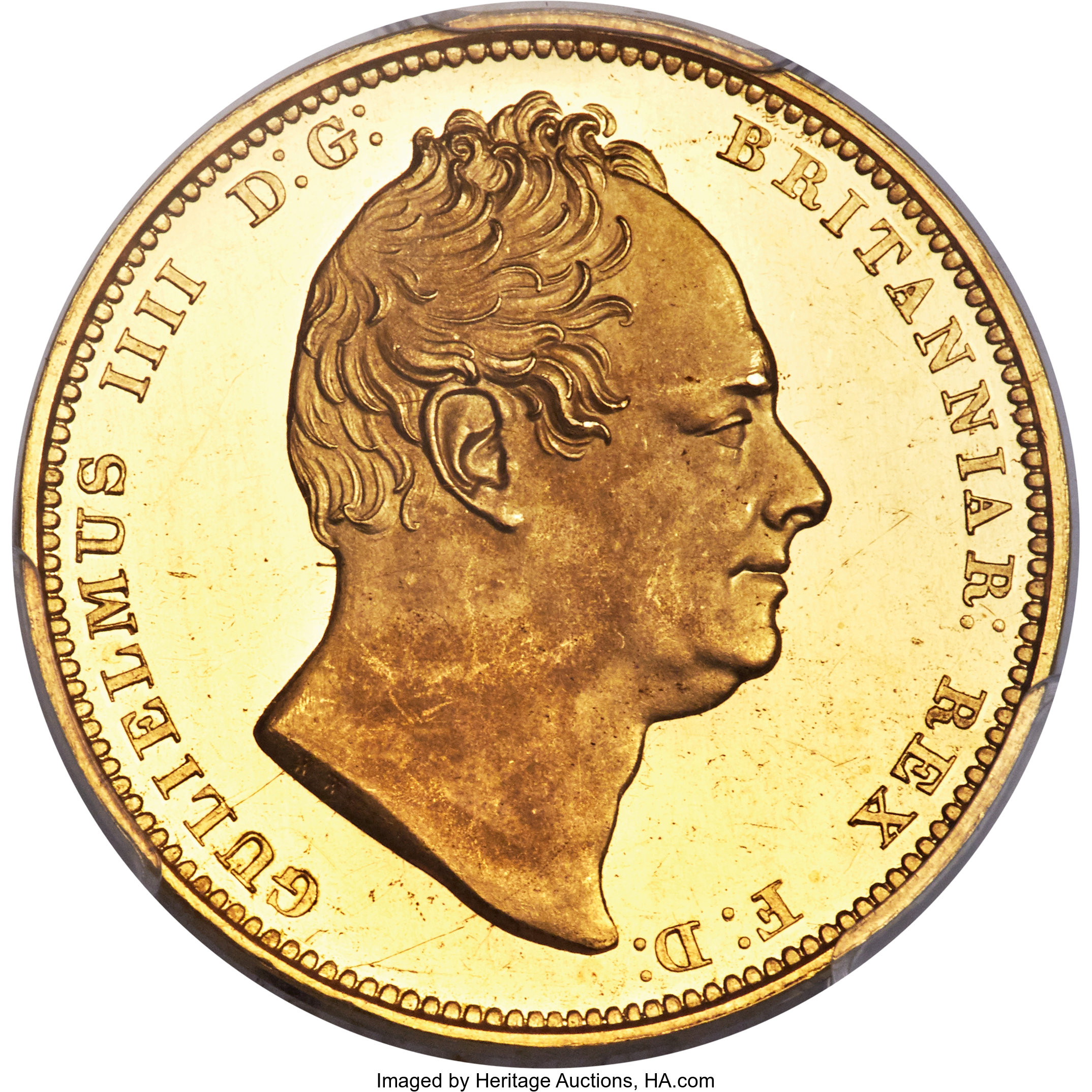 Great Britain William Iv Gold Proof 2 Pounds 1831 Pr64 Deep Cameo Lot 34235 Heritage Auctions