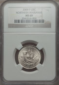 Statehood Quarters, 2009-P 25C Northern Mariana Islands MS69 NGC. NGC Census: (1/0). .From The Mile High Collecti...