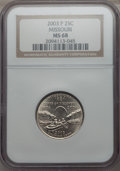 Statehood Quarters, 2003-P 25C Missouri MS68 NGC. NGC Census: (4/0). PCGS Population:(5/0). . From The Mile High Collection....