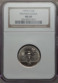 Statehood Quarters, 1999-P 25C Pennsylvania MS69 NGC. NGC Census: (1/0). . From TheMile High Collection....