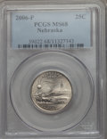 Statehood Quarters, 2006-P 25C Nebraska MS68 PCGS. PCGS Population: (4/0). NGC Census:(1/0). . From The Mile High Collection....