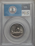 Statehood Quarters, 2000-D 25C Virginia MS68 PCGS. PCGS Population: (17/0). NGC Census:(14/0). . From The Mile High Collection....