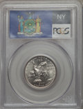 Statehood Quarters, 2001-P 25C New York MS69 PCGS. PCGS Population: (13/0). NGC Census:(1/0). . From The Mile High Collection....
