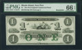 Obsoletes By State:Rhode Island, New Port, RI - New England Commercial Bank $1 18__ Remainder G16a. ...