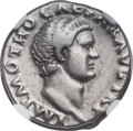 Ancients:Roman Imperial, Ancients: Otho (AD 69). AR denarius (17mm, 3.48 gm, 6h). NGCChoice VF ★ 5/5 - 5/5....