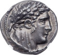 Ancients:Greek, Ancients: PHOENICIA. Tyre. Ca. 126/5 BC - 67/8 AD. AR shekel (28mm,14.46 gm, 12h). NGC Choice AU 5/5 - 5/5....