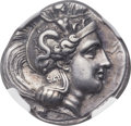Ancients:Greek, Ancients: LUCANIA. Thurium. Ca. 350-300 BC. AR stater (22mm, 7.78gm, 2h). NGC Choice XF ★ 5/5 - 5/5, Fine ...
