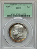 Kennedy Half Dollars, 1964-D 50C MS67 PCGS. PCGS Population: (51/1). NGC Census: (14/0).Mintage 156,205,440. ...