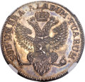 German States:Jever, German States: Jever - Russian Administration. Friederike AugusteSophie Taler 1798 MS64 NGC,...
