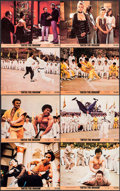 "Movie Posters:Action, Enter the Dragon (Warner Brothers, 1973). Mini Lobby Card Set of 8(8"" X 10""). Action.. ... (Total: 8 Items)"