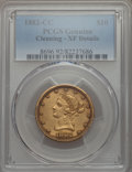 1882-CC $10 -- Cleaning -- PCGS Genuine. XF Details. NGC Census: (3/137). PCGS Population: (10/112). CDN: $2,600 Whsle...