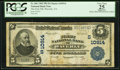 National Bank Notes:Virginia, Waverly, VA - $5 1902 Plain Back Fr. 606 The First NB Ch. #(S)10914. ...