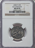 Statehood Quarters, 2000-P 25C South Carolina MS69 Prooflike NGC. NGC Census: (1/0). PCGS Population: (1/0).. From The Mile High Collection...