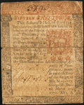 Colonial Notes:Pennsylvania, Pennsylvania March 20, 1771 15s Very Fine.. ...