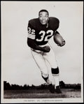 Football Collectibles:Photos, 1962 Jim Brown Wire Photograph....