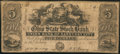 Obsoletes By State:Ohio, Sandusky City, OH- Union Bank of Sandusky City, Ohio State StockBank Counterfeit $5 Sept. 1, 1852 C10 Wolka 2407-06. ...