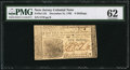 Colonial Notes:New Jersey, New Jersey December 31, 1763 6s PMG Uncirculated 62.. ...