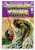 Bronze Age (1970-1979):Horror, Swamp Thing #1 (DC, 1972) Condition: FN+....