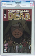 Modern Age (1980-Present):Horror, The Walking Dead #1 Wizard World Sacramento Edition (Image, 2015)CGC NM/MT 9.8 White pages....