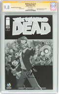 Modern Age (1980-Present):Horror, The Walking Dead #1 Wizard World Tulsa Sketch Edition - SignatureSeries (Image, 2015) CGC NM/MT 9.8 White pages....
