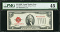 Small Size:Legal Tender Notes, Fr. 1506* $2 1928E Legal Tender Note. PMG Choice Extremely Fine 45.. ...