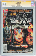 Modern Age (1980-Present):Science Fiction, X-Files #20 Signature Series (Topps Comics, 1996) CGC NM 9.4 Whitepages....