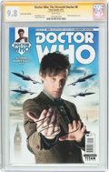 Modern Age (1980-Present):Science Fiction, Doctor Who: The Eleventh Doctor #8 Subscription Edition - SignatureSeries (Titan Comics, 2015) CGC NM/MT 9.8 White pages....