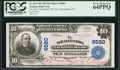 National Bank Notes:Pennsylvania, New Alexandria, PA - $10 1902 Plain Back Fr. 624 The New AlexandriaNB Ch. # 6580. ...