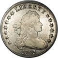 Early Dollars: , 1803 $1 Small 3. B-3, BB-256, R.5. VF35 NGC. Small 3, star 1 50%further than star 7; Outer a...