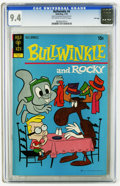 Bronze Age (1970-1979):Cartoon Character, Bullwinkle #4 File Copy (Gold Key, 1972) CGC NM 9.4 Off-white towhite pages. Overstreet 2005 NM- 9.2 value = $70. CGC censu...