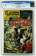 Golden Age (1938-1955):Classics Illustrated, Classics Illustrated #41 Twenty Years After -- Original Edition (Gilberton, 1947) CGC FN/VF 7.0 Off-white to white pages. Ho...
