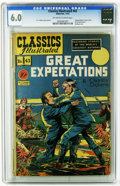 Golden Age (1938-1955):Classics Illustrated, Classics Illustrated #43 Great Expectations -- Original Edition (Gilberton, 1947) CGC FN 6.0 Off-white to white pages. Used ...