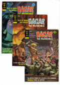 Bronze Age (1970-1979):Miscellaneous, Dagar the Invincible Group (Gold Key, 1973-76) Condition: Average VF/NM. Full short box lot includes #3 (intro of Graylin, 1...