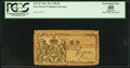 Colonial Notes:New Jersey, New Jersey October 20, 1758 £6 PCGS Apparent Extremely Fine 40.. ...
