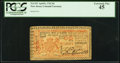 Colonial Notes:New Jersey, New Jersey April 8, 1762 £6 PCGS Extremely Fine 45.. ...