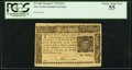 Colonial Notes:New York, New York March 5, 1776 $1/2 PCGS Choice About New 55.. ...
