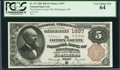 Wilmington, OH - $5 1882 Brown Back Fr. 472 The Clinton County NB Ch. # 1997