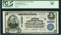 National Bank Notes:Tennessee, Loudon, TN - $5 1902 Plain Back Fr. 608 The First NB Ch. #(S)12080. ...