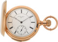Timepieces:Pocket (pre 1900) , L.C. Grandjean Locle Fine 18k Gold Five-Minute Repeater, circa 1885. ...