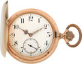 Timepieces:Pocket (post 1900), International Watch Co. Heavy Gold Hunters Case, circa 1905. ...