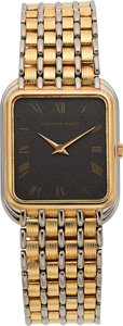 Timepieces:Wristwatch, Audemars Piguet Gent's Two Tone Gold Wristwatch. ...