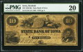 Obsoletes By State:Iowa, Keokuk, IA- State Bank of Iowa $10 July 1, 1859 G158 Oakes 83-5. ...